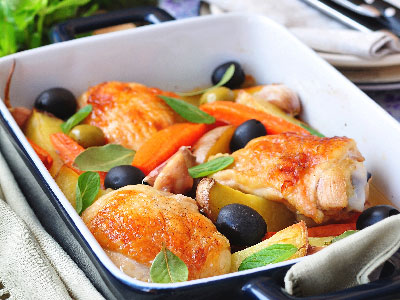 roasted-chiken-legs-with-vegetables-and-olives